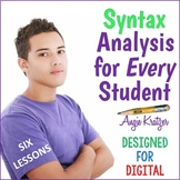 Syntax Analysis for Every Student