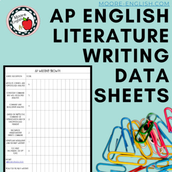 AP English Timed Writing Data Sheets