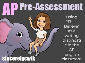 AP English Writing Diagnostic