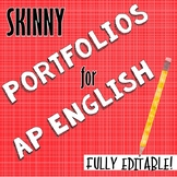 AP English Writing Portfolio--Editable!