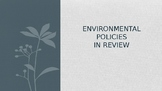AP Environmental Most Important Laws-What You Need To Know