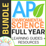 APES /AP Environmental Science FULL YEAR Review & Learning