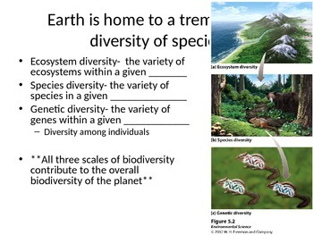 AP Environmental Science: Biodiversity