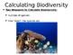 AP Environmental Science Biodiversity PowerPoint