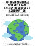AP Environmental Science Exam: Energy Resources & Consumption