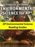 AP Environmental Science Friedland and Relyea Reading Guid