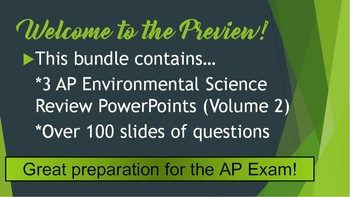 AP Environmental Science (APES) Review 3: Soil, Agriculture, & Forests