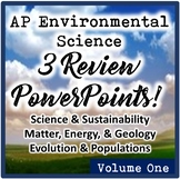 AP Environmental Science (APES) Review 1: Science, Energy,