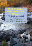 UPDATED AP Environmental Science Unit 8: Aquatic and Terrestrial Pollution