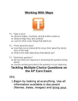 AP Euro - 8 Warm Ups, Strategies, & Yearlong Activies