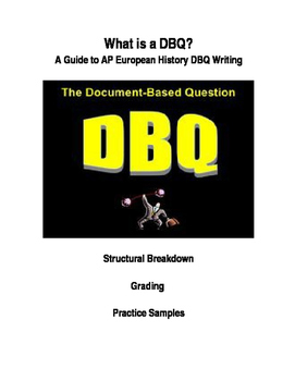 AP European History DBQ Overview Lecture / Intro, Notes, Sample Essay Analysis