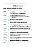 AP European History - Test Review through Tweets