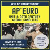AP Euro Unit 8: World Wars & Dictators. Digital: DBQ, Lecture, Exam & Activities