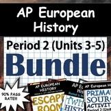AP European History / AP Euro: Complete Units 3-5 (Period
