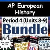 AP European History / AP Euro: Complete Units 8-9 (Period