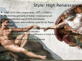 AP European History Art Review Powerpoint (pt 1 of 2)
