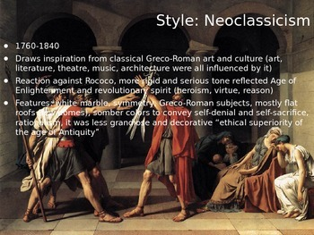AP European History Art Review Powerpoint (pt 2 of 2)