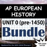 AP European History - Complete Unit 0 (pre-1450 CE) - Summ