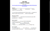 AP European History DBQ Introduction Worksheets and Modified DBQ