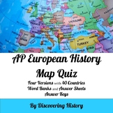 AP European History: Europe Map Quiz