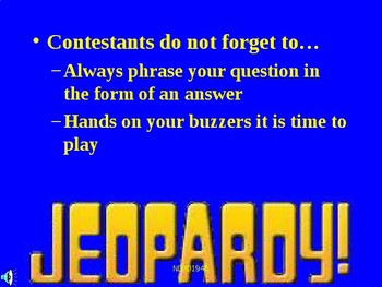 AP European History Jeopardy PowerPoint 1 Review