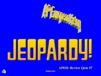 AP European History Jeopardy PowerPoint 7 Review