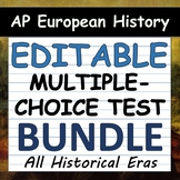 AP European History Multiple-Choice Tests - Covers Periods 1-4 / Units 1-9!!!