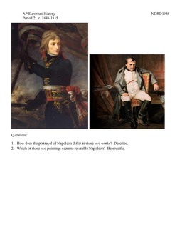 AP European History Period 2 The Downfall of Napoleon Lesson