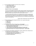AP European History Period 4 A, Units 13-14 Exam in the Re