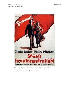 AP European History Period 4 Failures of the Weimar Republic