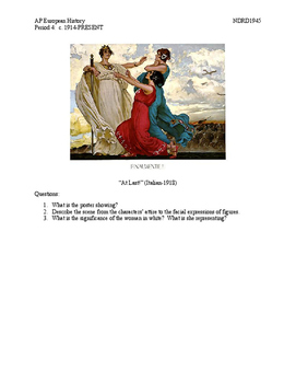 AP European History Period 4 Lesson Plan Bundle Unit