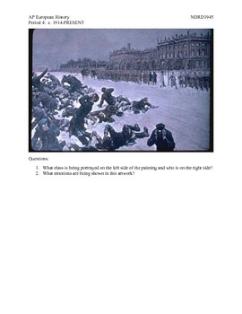 AP European History Period 4 Russian Revolution Part I lesson