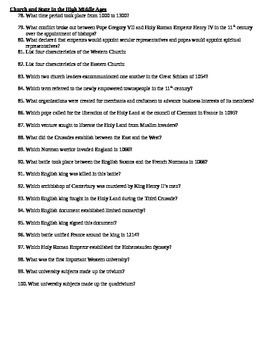 ap european history pre 1300s review study guide by dallin hardy rh teacherspayteachers com ap european history chapter 27 study guide answers ap european history unit 1 study guide answers