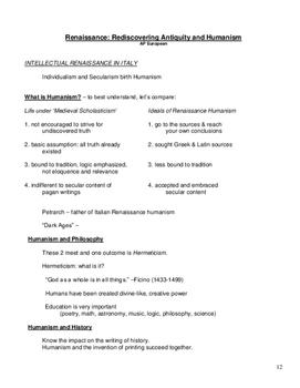 AP European History (Renaissance through Napoleon) 144pg Course Binder