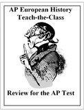 AP European History Review Group Activity