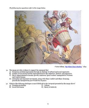 AP European History Stimulus-Style Test Questions for Period 3 (1815-1914)