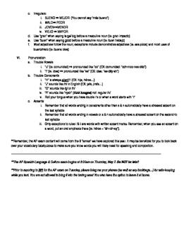 AP Exam Grammar review