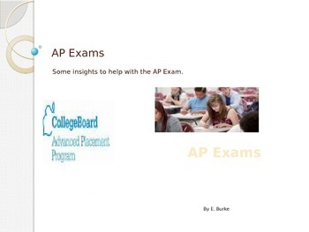 AP Exams, A Resource