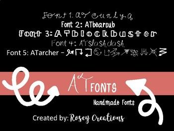 AT Fonts Bundle 1