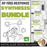 AP Free Response SYNTHESIS ESSAY BUNDLE Scaffolding Worksh