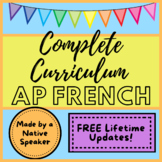 AP French Bundle - FULL YEAR of Activities ! Full Curricul