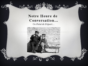 AP French Conversation Starters