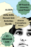 AP French   Kiffe Kiffe Demain Curriculum   TWO MONTHS of Units   Essay, Guide +