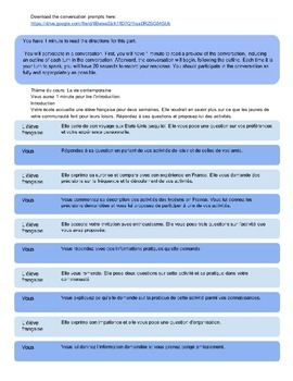 AP French Language and Culture: Conversation