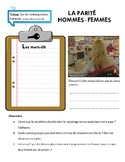 AP French Language and Culture: La parité hommes-femmes au travail