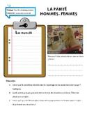 AP French Language and Culture: La parité hommes-femmes au