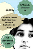 "AP French ""Quête de Soi"" Kiffe Kiffe Demain Essay & Explication de texte"