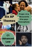 AP French: La découverte d'un pays francophone  Research Project