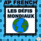 AP French Theme Posters Global Challenges