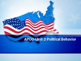AP-GOPO-Unit-2-Political Behavior-Ideology, Public Opinion